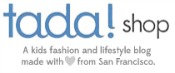 tada! shop kids fashion and lifestyle blog
