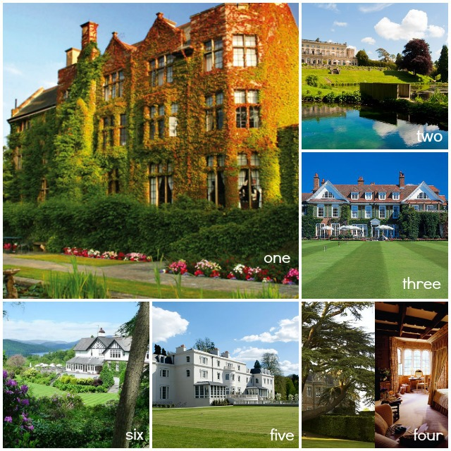 English Country-Hotels