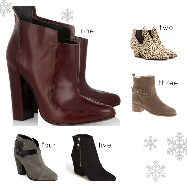 Ankle Boots from Alexander Wang, Kate Spade, Rag & Bone