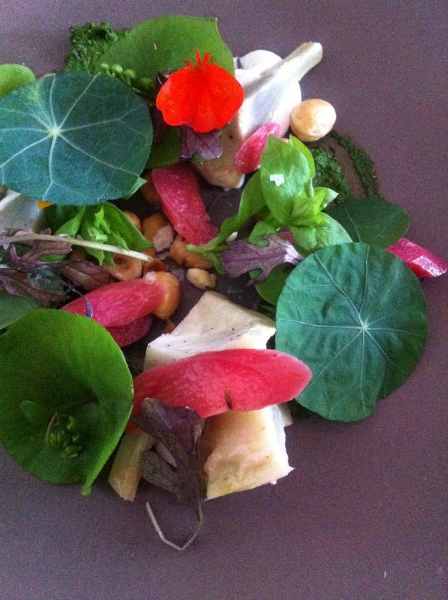 rhubarb-salad