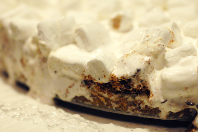 smores-ice-cream-cake-melting