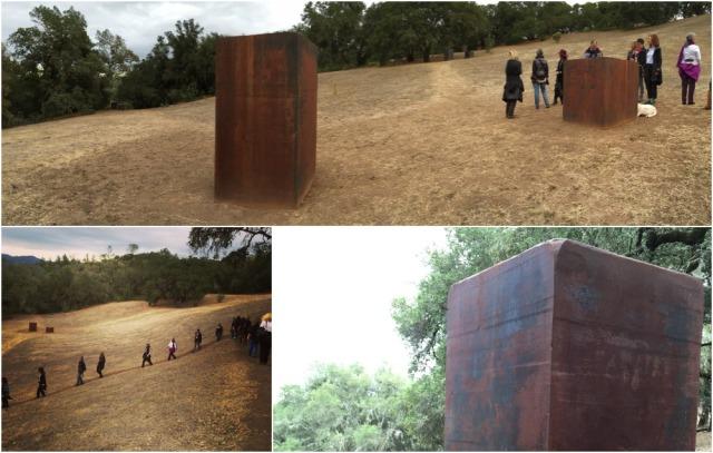 Richard Serra at Oliver Ranch