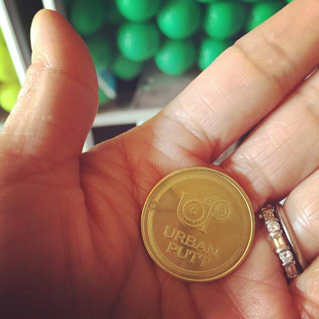 urban putt token
