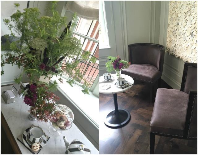 tea room jute design