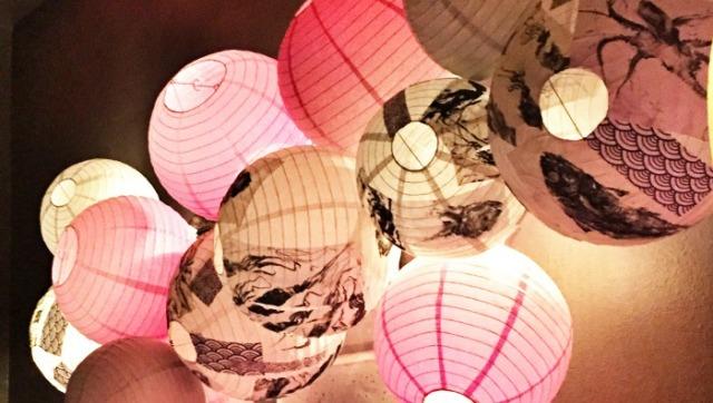 Pink Zebra San Francisco lantern lights